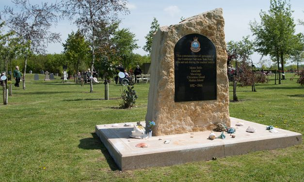 Where are our  Nuclear Veterans Memorials?