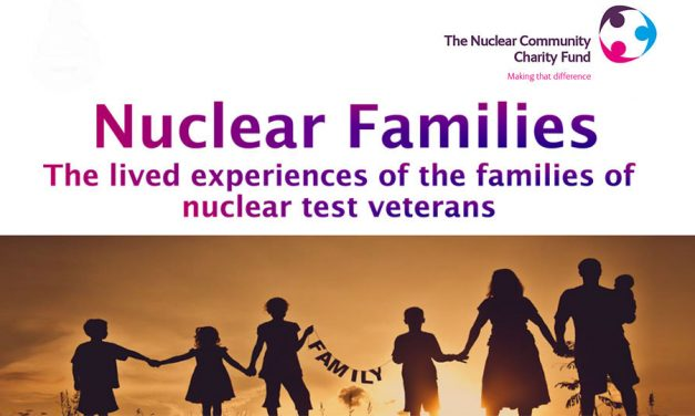Nuclear Families: A Social Study of British Nuclear Test Veteran Community Families