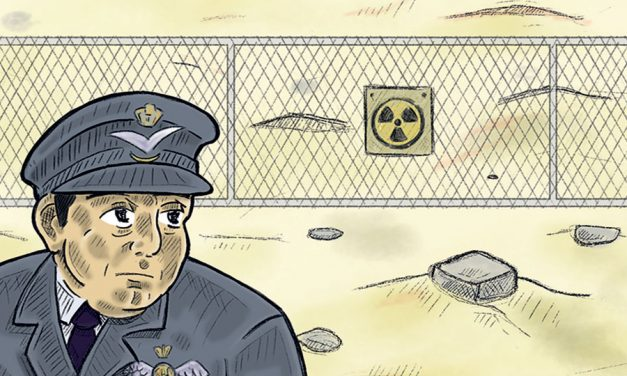Can Serving on a nuclear testing site ever be fun?