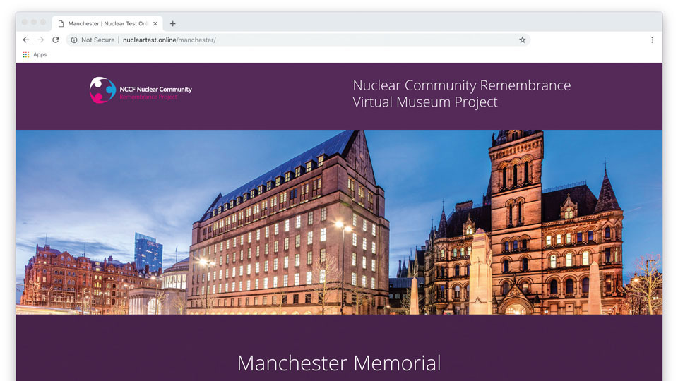 0fd76078c Nucleartest.online the virtual museum for the nuclear community opens new  exhibitions and galleries. To mark the two most recent remembrance project  events ...